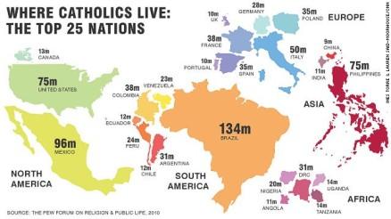 CATHOLIC MAP