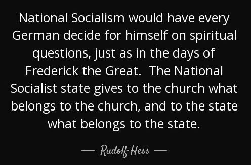 HESS-CHURCH-STATE