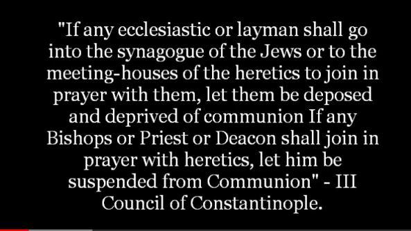MIXING WITH JEWS-HERETICS